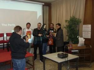 A tady už nechybí vítěz filmové soutěže Pavel Soukup.