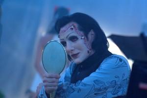 Nivek Ogre ve snímku Repo: Genetická opera.