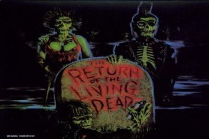 Obal soundtracku k filmu The Return of the Living Dead.