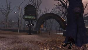 Excentrický projekt lunaparku, ze kterého se stalo rejdiště duchů a zombíků.