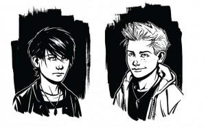 Hlavní dvojice hrdinů - Alrik a Viggo.