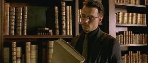Johnny Depp je knihomol.
