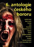 Obálka 6. antologie českého hororu.
