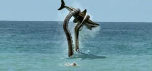 Sharktopus zachránce!