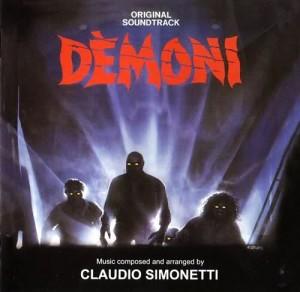 Obal soundtracku k filmu Démoni.