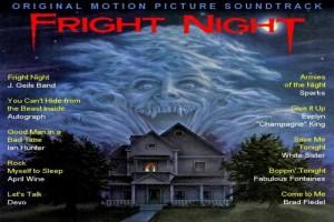 Obal k soundtracku filmu Fright Night.