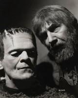 Dvě velké legendy - Karloff a Lugosi.