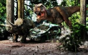 Hnusní dinosauři poprvé.