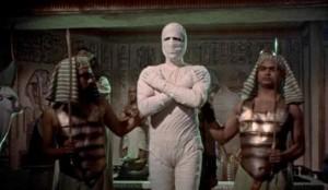 Ještě jako mladá mumie.
