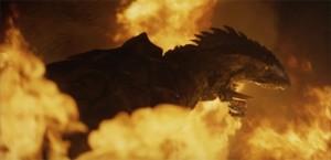 Gamera v ohni.