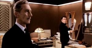 Druhá z hereckých legend - Peter Cushing.