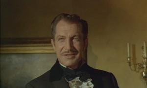Vincent Price, když se usmívá, pořád vyzařuje děs.