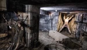 Středověká mučírna, kde leckdy odsouzení svůj život ukončili.