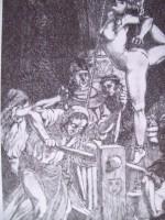 Výslechy žen měly evidentně ukájet zvrácené touhy přihlížejících mužů.