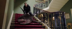 Jízda na žralokovi se neomrzí.