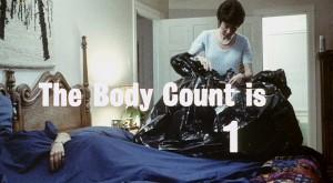Body count na začátku.
