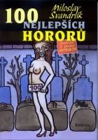 Obálka knihy 100 nejlepších hororů.