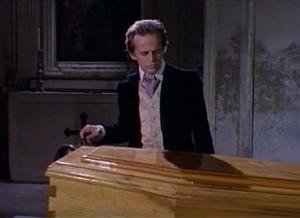 Klaus Kinski jako hrobník? Ale ne, doktor.