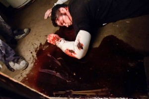 Pořádná dávka krve.