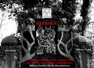 Upoutávka na knihu Nekrosarium.