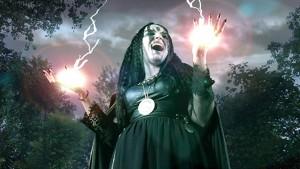 Zlá čarodějnice.