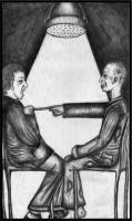 Ilustrace k jedné z povídek.