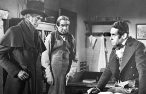 Uprostřed Bela Lugosi.