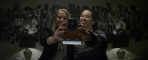 Dokonce i double selfie.