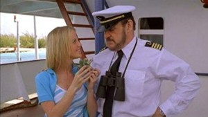 Kapitán s dalekohledem.